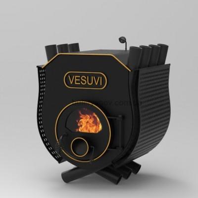 Піч булерьян з плитою Vesuvi Тип 01 + захисний кожух