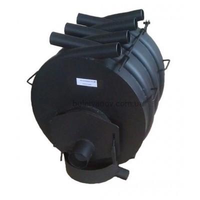 Опалювальна піч булерьян Вогник Тип 02 сталь 4 мм