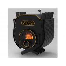 Піч булерьян з плитою Vesuvi Тип 03 + скло і захисний кожух